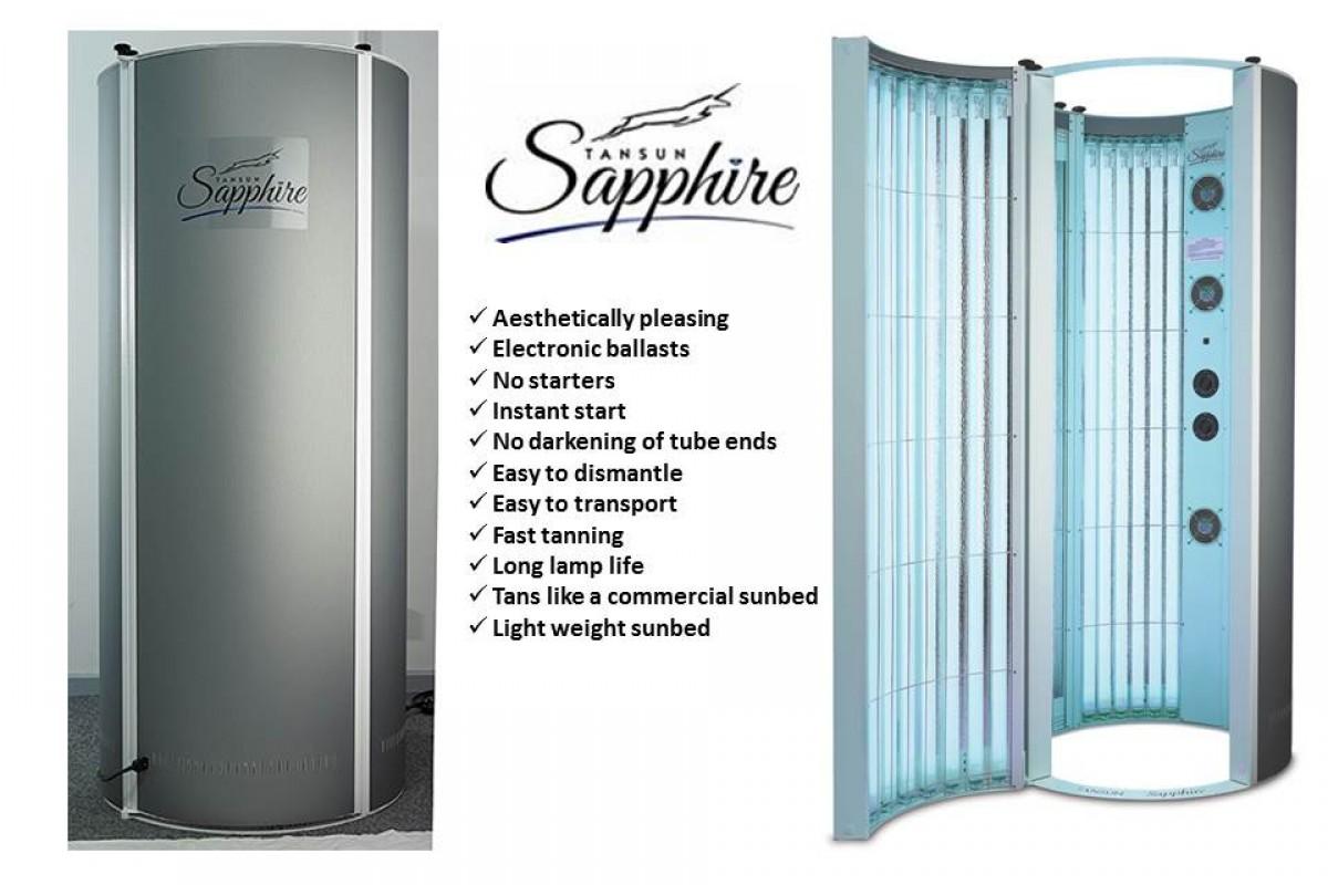 Hire the Tansun Sapphire Vertical Sunbed